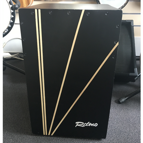 Ritmo Cajon Latino 2 CR2 Beech Wood Black